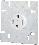 30A Dryer / Range Receptacle - Square