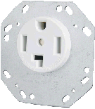 30A Dryer/Range Receptacle - Octagon