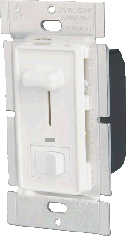Slide Dimmer w/ Rocker & LED
