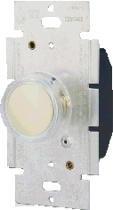 Rotary Dimmer w/Push on/off switch & LED