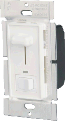 Low Voltage Slide Dimmer w/Switch & LED