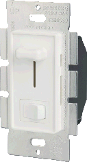 Low Voltage Slide Dimmer w/Switch